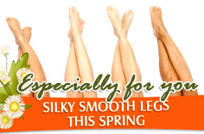 Silky smooth Legs this Spring